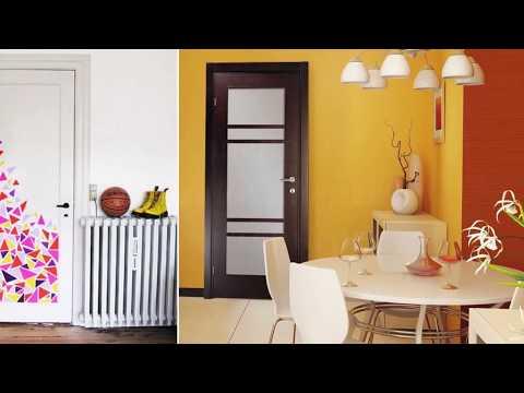 Красивый дизайн дверей в интерьере