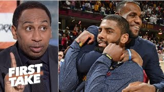 Download Stephen A.'s sources say 'no way in hell' Kyrie Irving is going to the Lakers | First Take Mp3 and Videos