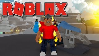 ROBLOX-EXPLORING The ICE MOUNTAIN (Snow Shoveling Simulator)