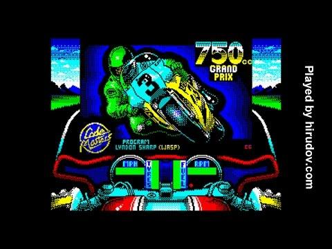 Sinclair ZX Spectrum Longplay - 750cc Grand Prix