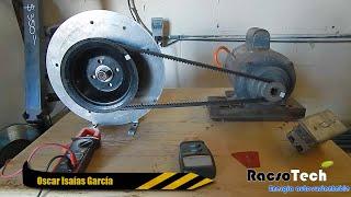 ✔ Como construir un generador Eolico de imanes permanentes PARTE 13 --- PRUEBA DE VOLTAJE
