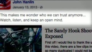 Did sheriff help spread Sandy Hook conspiracy theory?