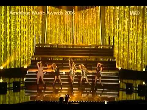 Pussycat Dolls - Buttons Live At  American Music Awards 2006