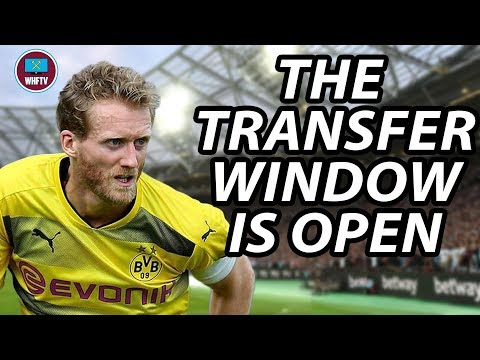 The Transfer window is now Open! Andre Schurrle to West Ham? Transfer Round Up