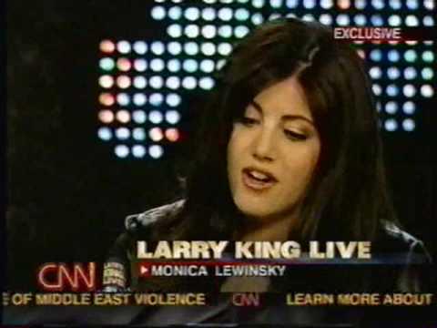 Monica Lewinsky on Larry King (part 1)