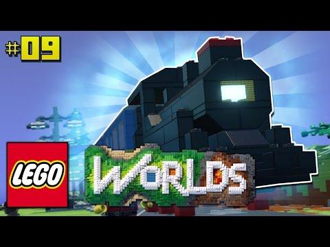 AERODYNAMISCHER POWERZUG Lego Worlds DeutschHD - Minecraft timerain spielen