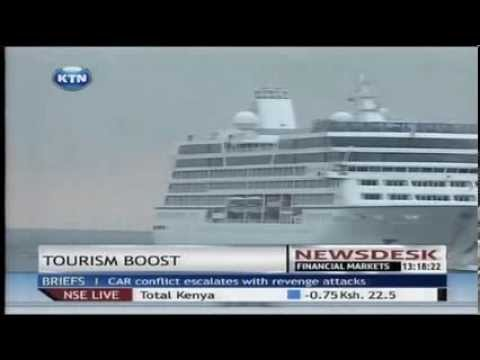 Over 600 tourists arrive in Mombasa aboard a cruise ship from Zanzibar