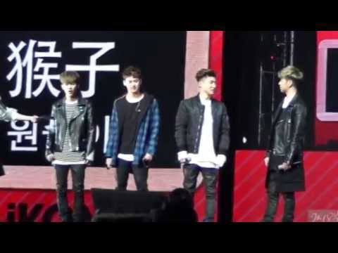 151121 iKON Beijing FanMeeting GAME CUT(일심동체게임) yh focus -1/2