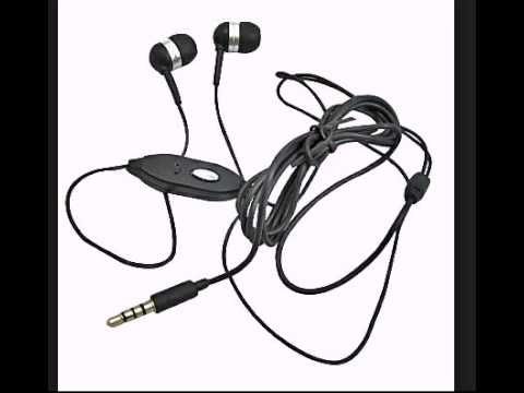 3 5mm Ear buds Headset Black for HTC DROID Incredible