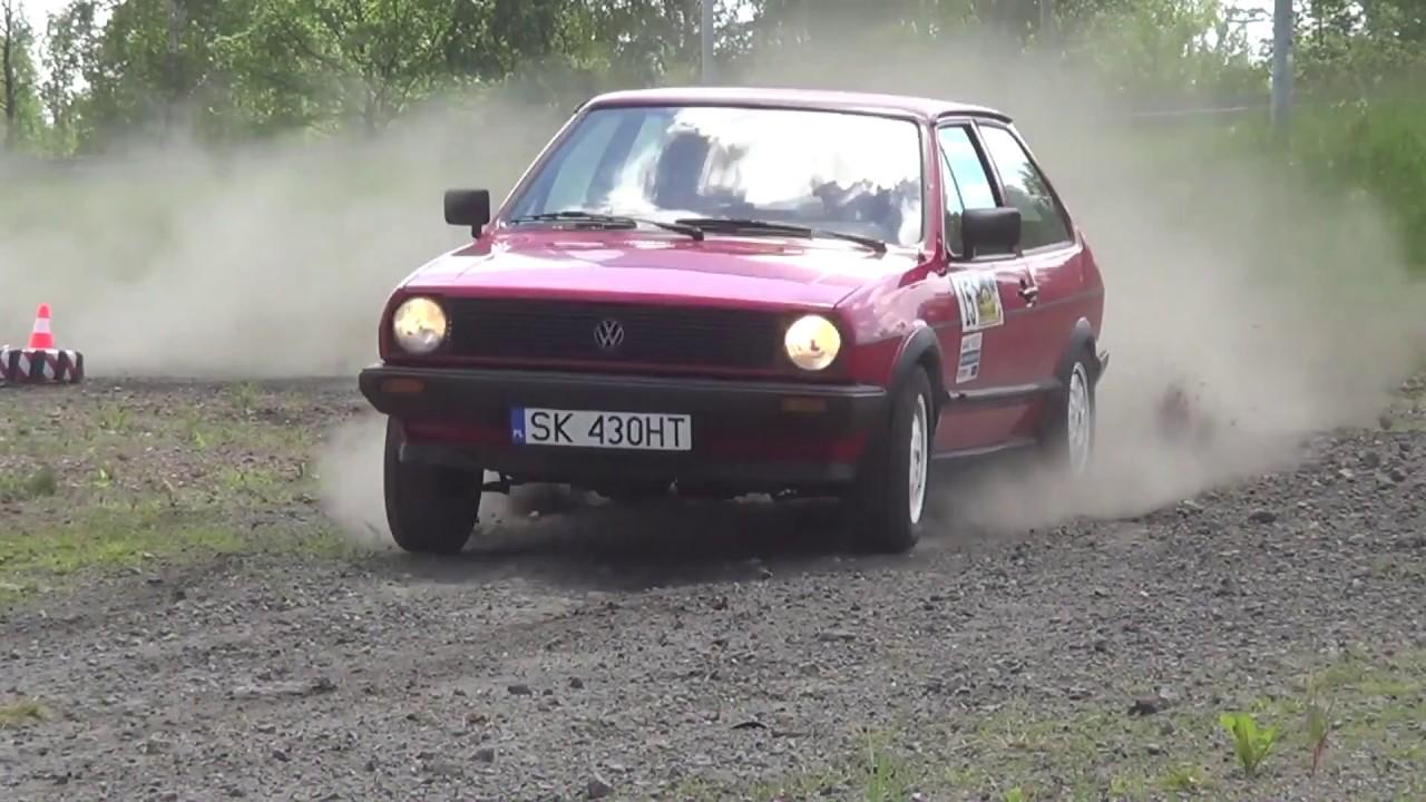 4 Gliwicki Rally Sprint 2017 – Dawid Kozłowski / Magdalena Staroń – VW Polo