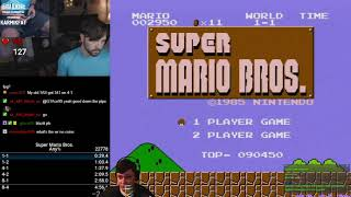 Разбор мирового рекорда в Super Mario Bros. Any% + TAS