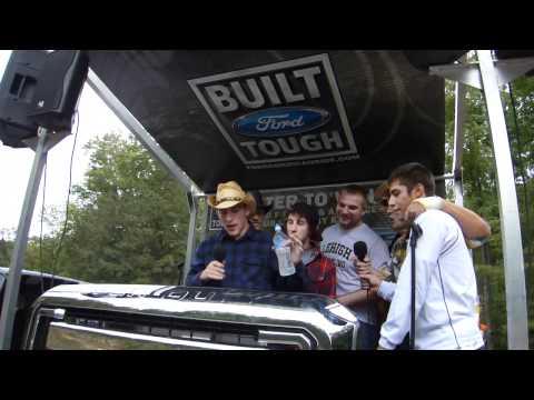 Wrestling Guys Do Some Karaoke in Moosic, PA
