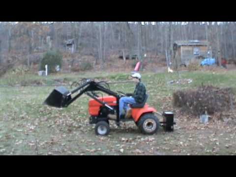 Ariens S16H Tractor with loader YouTube
