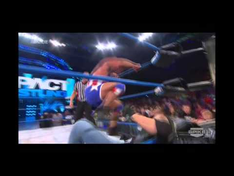 TNA Impact Wrestling- Sting, Kurt Angle & Wild Card vs Aces & 8's