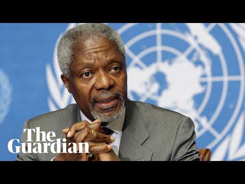 Kofi Annan's three