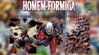 1º,2º e 3º Homem-Formiga - Protocolo Héroi