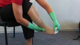 EasySlide (Open Toe) donning aid for Compression & Support Stockings