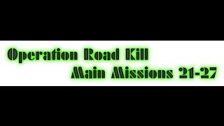 Repeat youtube video War Commander, Operation Road Kill Missions 21-27 bases 105-130