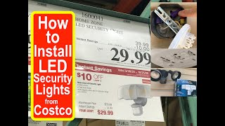 How to Install Costco LED Secu…