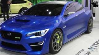 Subaru WRX Concept 2013 Videos