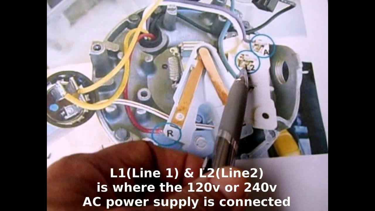 110 Volt Relay Wiring Diagram 120v 240v Pool Amp Sprinkler Motors Testing Wiring