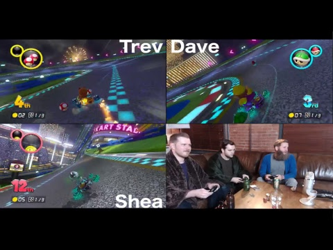 Mario Kart 8 Deluxe - Don't Drink and Drive!!