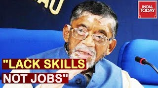 """North Indians Lack Skills, Not Jobs"" Union Min Santosh Gangwar Makes Bizarre Statement"