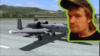 DCS A-10C Warthog ультрасимулятор хуйна-на