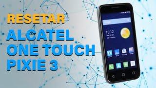 Como resetar o seu Alcatel One Touch Pixie 3 4013X configurações de fábrica