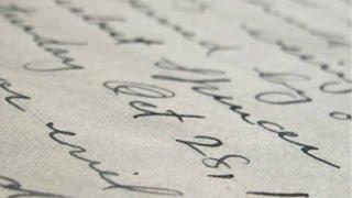 Your Hand: Signatures and Handwriting - Professor Jane Caplan thumbnail