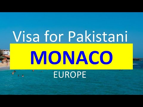 Monaco Visa for Pakistani l Contact us