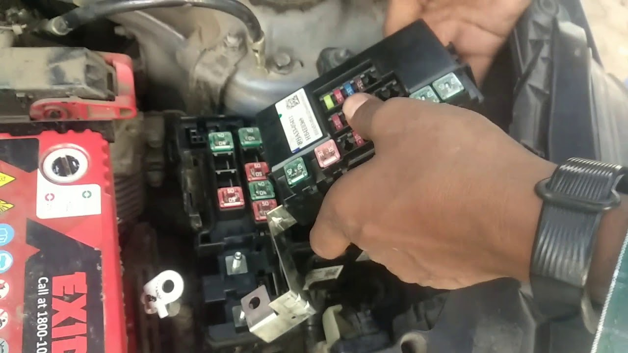 hight resolution of hyundai xcent i20 fuses relays locations ac starter horn