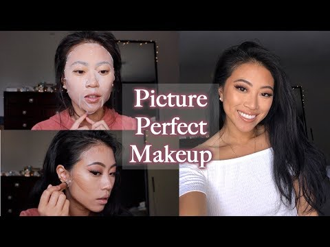 MAKEUP FOR PICTURES (NO FLASHBACK) | Christine Le