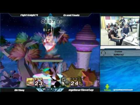Fight Knight 4 Project M Singles Grand Finals - Dirtboy (Peach) vs. eyeheartlovetap (Yoshi)