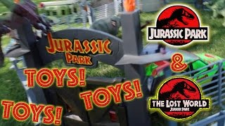 Playing with Jurassic Park And The Lost World Toys to Celebrate Jurassic World s release!