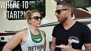How To Start The Rv Life // Our Tips On Where To Begin
