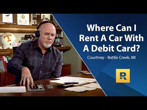 Where Can I Rent A Car With A Debit Card?