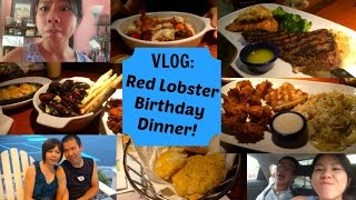 ♡ Red Lobster Birthday Dinner | SLifeVlogs ♡