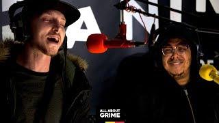 SOX b2b Manga Saint Hilare freestyle for I-SON   All About Grime radio show