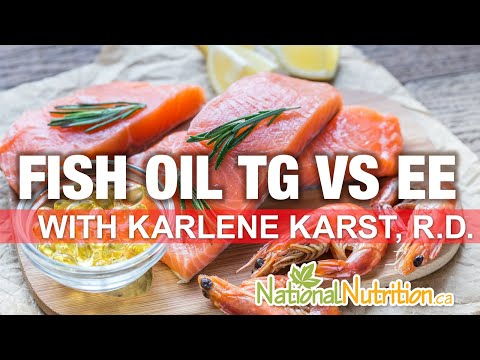 Professional Supplement Review - Fish Oil Tg Vs. Ee