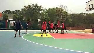 Kendriya Vidyalaya - regional sports meet 2018 - basketball - kv regionals nfc vs Andrews ganj B.B