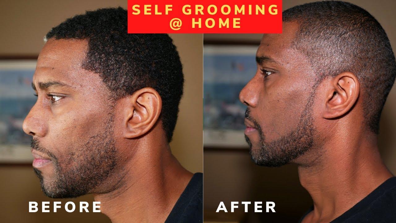 How To Use The Cut Buddy Beard Haircut Grooming Template Tool As