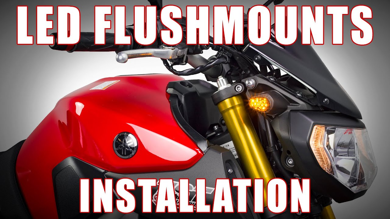 maxresdefault how to install led flushmount signals on 2014 2016 yamaha fz 09 by  at mifinder.co