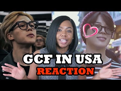 AMERICAN REACT TO BTS - G.C.F In USA - BTS