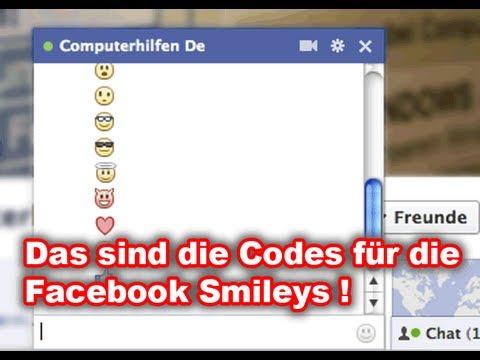 siadingworkfu: Facebook smileys tastenkombination