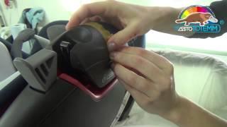 Как удалить царапины с пластика детского автокресла Maxi-Cosi. Ремонт в