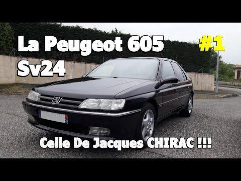 PEUGEOT 605 SV24 de CHIRAC !!! #EPISODE 1
