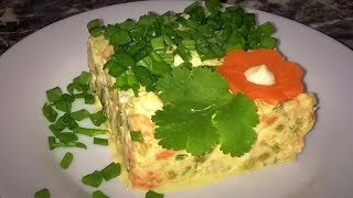 ТАК Классический салат Оливье будет ЕЩЁ ВКУСНЕЕ!!! Настоящий салат оливье!