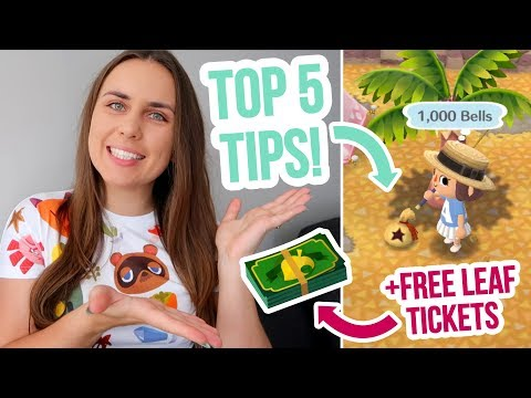 FREE LEAF TICKETS + STORAGE | My Top Tips in Animal Crossing Pocket Camp! ZoeTwoDots