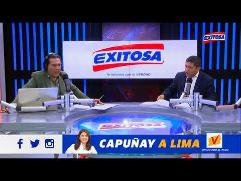 Entrevista en Radio Exitosa: Manuel Rosas y Anthony Ramos. Ley del Esclavo Juvenil.
